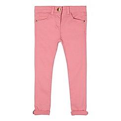 J by Jasper Conran - Designer girl's pink skinny jeans
