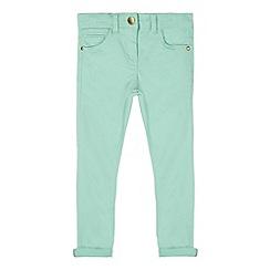 J by Jasper Conran - Designer girl's aqua skinny jeans