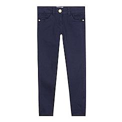 J by Jasper Conran - Designer girl's navy skinny jeans