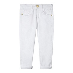 J by Jasper Conran - Designer girl's white skinny jeans