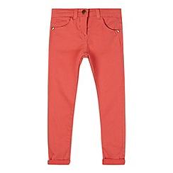 J by Jasper Conran - Designer girl's coral skinny jeans
