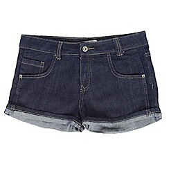 Red Herring - Girl's dark blue denim shorts