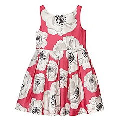 RJR.John Rocha - Designer girl's pink poppy print dress