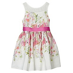 RJR.John Rocha - Designer girl's pink digital floral prom dress