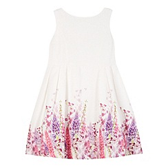 RJR.John Rocha - Designer girl's white foxglove print dress