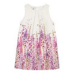 RJR.John Rocha - Designer girl's white floral border dress