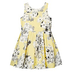RJR.John Rocha - Designer girl's yellow floral sun dress