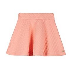 J by Jasper Conran - Designer girl's coral textured skater skirt