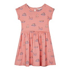 J by Jasper Conran - Designer girl's coral boat print dress