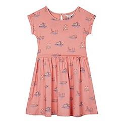 J by Jasper Conran - Designer girl's coral boat print dress