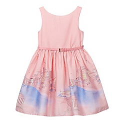 J by Jasper Conran - Designer girl's pink beach border prom dress