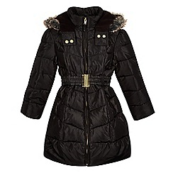 bluezoo - Girls' black padded jacket