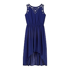 Star by Julien MacDonald - Designer girl's blue gem dress