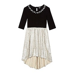 Star by Julien Macdonald - Girls' black and gold dress