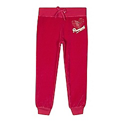 Pineapple - Girls' pink jogger bottoms