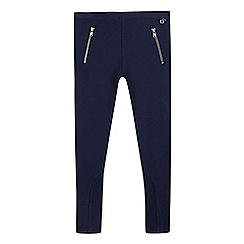J by Jasper Conran - Girl's navy jodhpur leggings