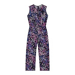 RJR.John Rocha - Designer girl's purple confetti print jumpsuit