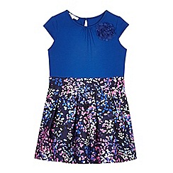 RJR.John Rocha - Girls' blue confetti skirt dress