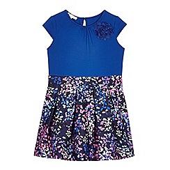 RJR.John Rocha - Girls' blue confetti skirt dress