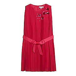 RJR.John Rocha - Girls' pink pleated waist dress