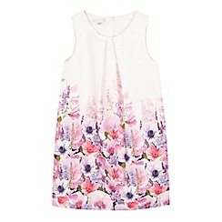 RJR.John Rocha - Girls' cream border print dress