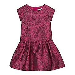 RJR.John Rocha - Girls' pink drop waist dress