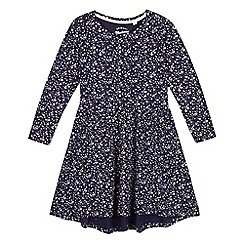 Mantaray - Girls' snowflake print jersey dress