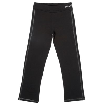 Girls Black Jogging Bottoms