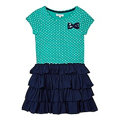 bluezoo - Girls' navy rara dress