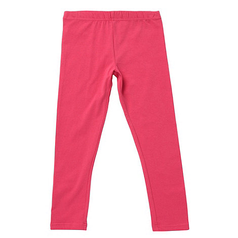 bluezoo - Girl+s pink plain leggings