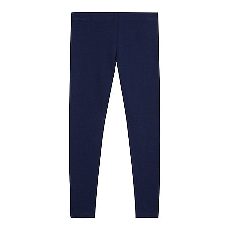 bluezoo - Girl's navy leggings
