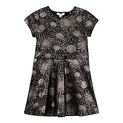 bluezoo - Girls' black sunflower dress