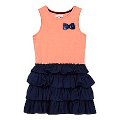 bluezoo - Girls' coral sleeveless rara dress