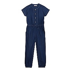 bluezoo - Girls' blue denim jumpsuit