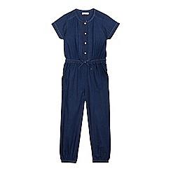 bluezoo - Girls' blue denim jumpsuit