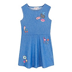 bluezoo - Girls' blue printed dress