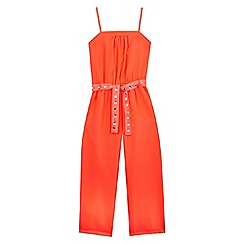 Star by Julien Macdonald - Girls' coral jumpsuit