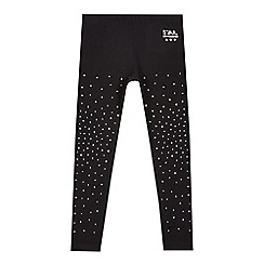 Star by Julien Macdonald - Girls' black diamante leggings