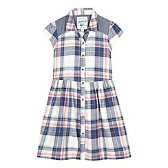 Mantaray - Girls' cream check dress