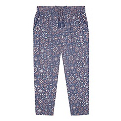 Mantaray - Girls' navy hareem trousers