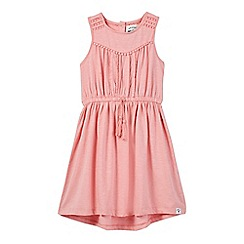 Mantaray - Girls' coral tassel dress