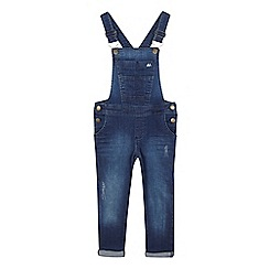 bluezoo - Girls' blue denim dungarees