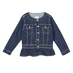 J by Jasper Conran - Girls' dark blue denim jacket