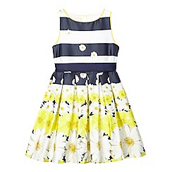 J by Jasper Conran - Girls' striped floral dress