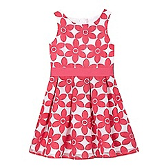RJR.John Rocha - Girls' pink embroidered floral dress