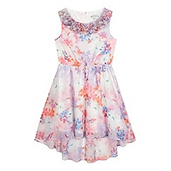 RJR.John Rocha - Girls' cream floral dress
