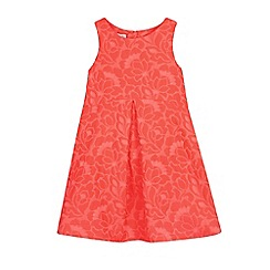 RJR.John Rocha - Girls' pink neon jacquard dress