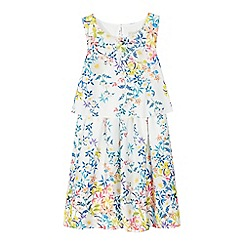 RJR.John Rocha - Girls' multi-coloured floral print two tiered dress