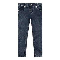 bluezoo - Girls' blue acid wash skinny jeans