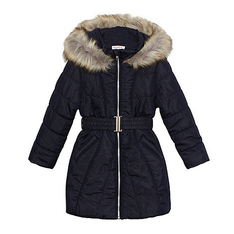 Girls Navy Coats - Coat Nj